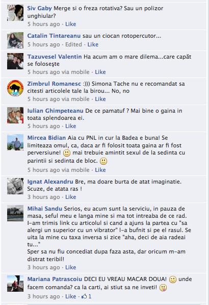 comentarii facebook